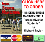 Click here to order the book, INSIDE BUSINESS MANAGEMENT: A Perspective for Students
